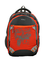 Vlookup Orange Grey Backpack