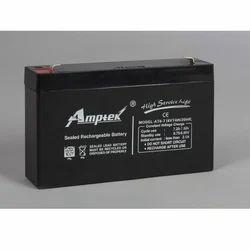 Amptek SMF Industrial Battery, Model: AT6-7
