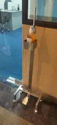 Sanitizing Dispensing Stand Foot Operating