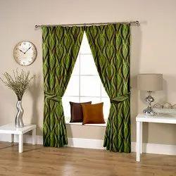 Wavy Green Curtain