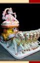 Surya Bhagwan Marble Moorti
