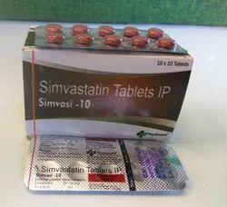 Simvastatin 10mg (SIMVASI 10)