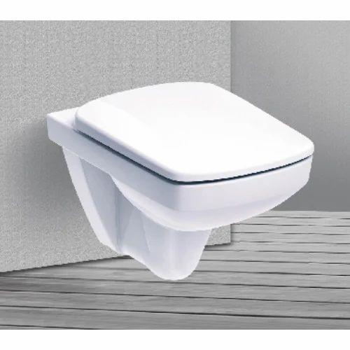 Wall Hung Square English Toilet Seat