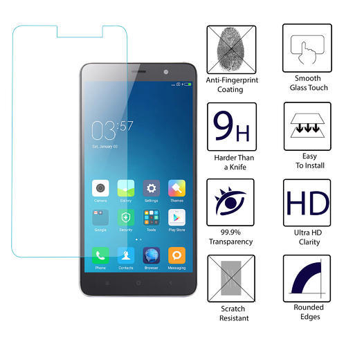 9h Hardness Tempered Glass For Xiaomi Redmi Note 3