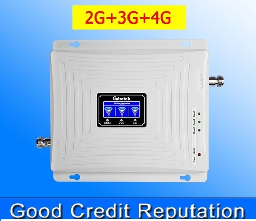 Mobile Signal Booster Complete Kit (2g/3g/4g) Triband