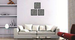 Syga Black Set Of 3 Acrylic Design Wall Decorative Frames