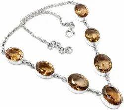 Smokey Topaz Fashion Necklaces