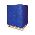 Blue, Black Pe Laminated Pallet Tarpaulin, For Pallet Cover