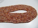 Natural Peach Color Silverite Beads
