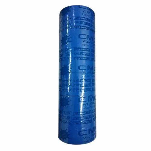 25-300 M Plain Blue Bopp Adhesive Tape