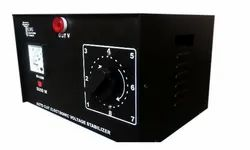 3 Kv Also Available Upto 6Kv 3Kv Manual Voltage Stabilizer With Auto Cut Off, Floor Mounting, 50V-300V
