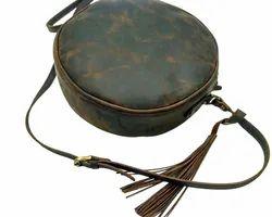 Vintage Leather Smart Sling Bag