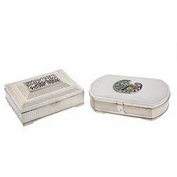Silver Meena Box