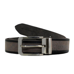 Casual Wear Brown Mens Leather Belt