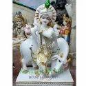 Krishna Moorti Marble Statue