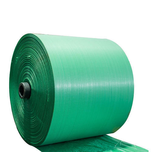 Sea Green PP Woven Fabric Roll
