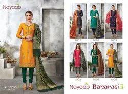 Banarasi Dupatta Embroidery Suit