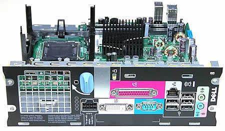 Dell Optiplex 755 SFF Motherboard Part No  0hx555, Desktop