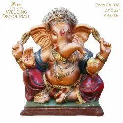 GA03A Fiberglass Ganesha Sculpture