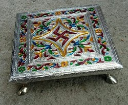 Meenakari Designer Wooden Pataa