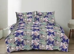 Twill Cotton Printed King Size Bed Sheet