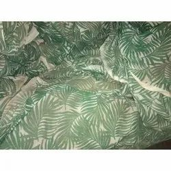 Cotton Printed Dyed Fabric, For Garments, GSM: 100-150
