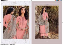 Summer Linen Embroiders Suits