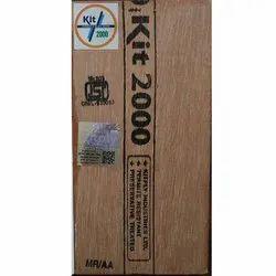 Kitply Brown Kit2000 MR Plywood, Size: 7 X 4 Ft,8ft X 4ft