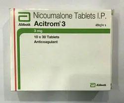 Acitrom 3 Mg Nicoumalone 30 Tabs Pack