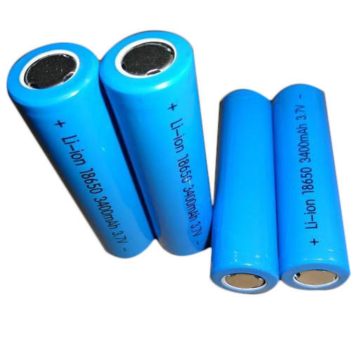 2200 mAh Lithium Ion Battery 18650, Voltage: 3.7 V, Rs 70 /piece   ID: 20033775891