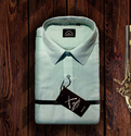 Formal Wear Plain Mens Linen Formal Shirt