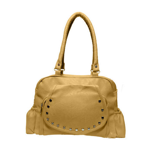 e2a4e581f8 Plain Synthetic Leather Designer Ladies Handbag