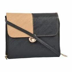 d2df68af3 Fashno Black Ladies Sling Bags