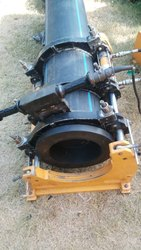 Single Clamp HDPE Pipe Hydraulic Butt Welding Machine