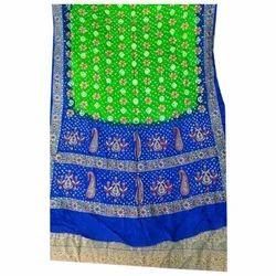 Casual Elegant Printed Bandhani Saree