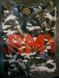 Military Print T Shirt