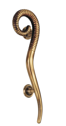 pull door handles. Brass Snake Pull Door Handle, N/S Handles