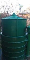 FRP Biogas Plant