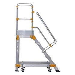 Mobile Platform Ladder