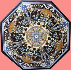 Italian Marble Inlay Table Top