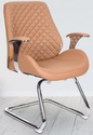 Executive Fort Fix Visitor Chair In Beige Colour