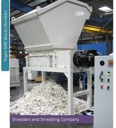 Paper Mill Waste Shredder