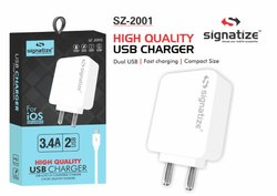 Signatize-Cha 2001  3.4 High Quality USB Charger