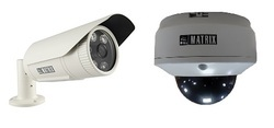 Matrix IP IR Dome/Bullet Camera