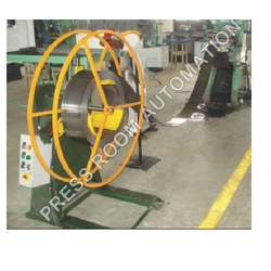 Motorized Decoiler with Pneumatic Feeder