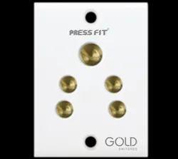 Press Fit - Gold 2-in-1 6 Amp. Socket