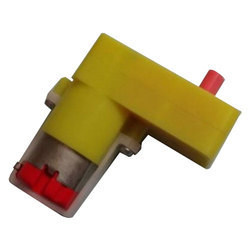 Geared DC Motor (BO Type), Voltage: 5v, 12v