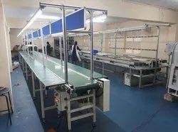 Tech trek engineering  Assembly Line Conveyor
