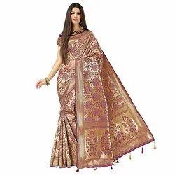 1895 Traditional Katan Silk Saree