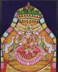 Lakshmi With Kumbam